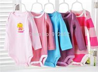 2014 Summer Boutique 5 Pcs Baby Romper Girl's Fashion Cotton Toddler Jumpsuit,Infant Carters Clothing Set Wear 5 Pieces