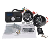 Universal Motorcycle Handlebar Audio System FM Radio Stereo Amplifier Speaker Free Shipping 50% OFF