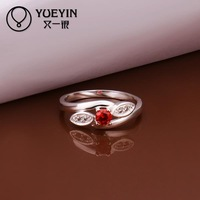 R288  925 Sterling silver  new design finger ring for lady