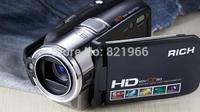 2014 Original, HD cameras, flash cameras RICH HDV-CP310 HD 1280 x 720P 500-megapixel 8x digital zoom Free shipping