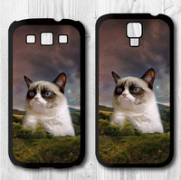 Grumpy Cat Hill Funny Protective Cover Case For Samsung Galaxy S4 S3