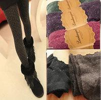 [group] camel hair Wave spell little foot pantyhose Leggings wholesale