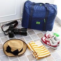 Free shipping BF050 Fashion bag travel high-quality Foldable mass travel bag storage bag 46*20*36.5cm