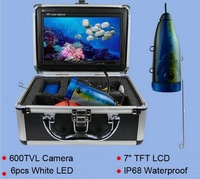 Free Shipping Night Vision Fish Finder Camera Underwater fishing Camera with LCD System