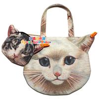 shoulder cat bag Hot Fashion Cat Face Tote Bag Handbag Purse bag