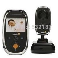 "Free shipping  2.5"" safety wireless digital baby monitor  2.4G audio radio baba electronica video babysitter fetal doppler"