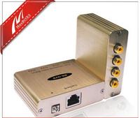 Quad Composite Video Balun video Transmission server multiplexer splitter converter support NTSC, PAL, SECAM Video  QVB