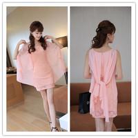 2014 New Fashion Desigual Clothing Women Elegant Sleeveless Slim Bodycon Casual Cute Mini Lace Dress Pluse Size Free Shipping