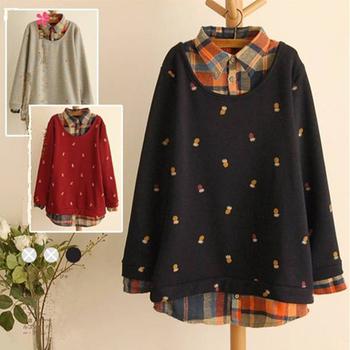 2014 новый осень зима свитер женщин зима свободного покроя мода трикотажные ананас ...