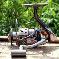 Gapless Fishing Reel Spinning Reel DK3000 13BB CNC Full Metal Handle Gear 5.2:1 Carretilha Pesca Pescaria Free Shipping