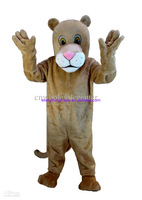 2014 New arrival Adult cartoon lovely Cartoon Lioness mascot costume fancy dress party costume adult size