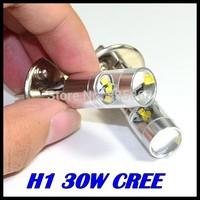 50PCS/LOT LED XQB H1 30W Driving Lamp cars Fog Head Bulb auto Vehicles parking Turn Signal Reverse Tail Lights car light source