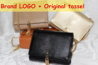 2014 New Fashion Brand Designer Women Mini Messenger Bag Girl Summer Cross-body Bag Quality PU Leather Original Tassel Y Handbag