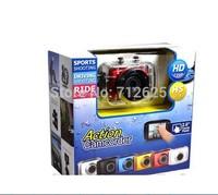 New Sports DVR Helmet Waterproof HD Action Camera Sport Outdoor Camcorder DV Hot Digital Video Camera, Free Shipping