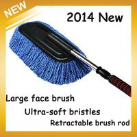 Hot sale Car Brush Nanofiber Clean Wax Mop Dedusting Washing Brush High Quality,Free Shipping