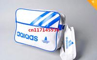 HOT sale 2014 new Men students pu bags,fashion casual Messenger shoulder bag / sports bag,4colors sport bag free shipping
