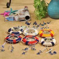 Mediterranean cork hoop Wind chime Tourist souvenirs Rural handicraft best wishes presents craft home decoration freeshipping