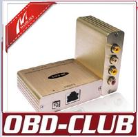 Dual Audio/Video Balun server multiplexer splitter converter 2-CH Audio/Video Transmission DAVB*
