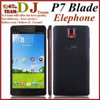 elephone p7 blade 5.5 inch MTK6582 quad core 1GB RAM 8GB ROM 8.0MP dual camera 960*540pix dual sim 3G slot smart phone android