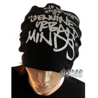 Tidal current male cap 100% cotton casual cap letter fashion turban hip-hop hiphop cap