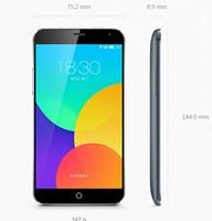 Original Meizu MX4 Quad+ Quad-core 16G Rom 2GB dual-channel LPDDR3 memory  Mobile Phone