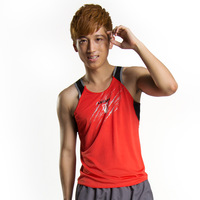 Wholesale 3pcs/lot Cheap Leevy quick-drying sports running vest  marathon sleeveless T-shirt men's basketball clothing