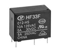 Hongfa relays HF33F-024-HS JZC-33F-024-HS3 5A250VAC 4 feet normally open