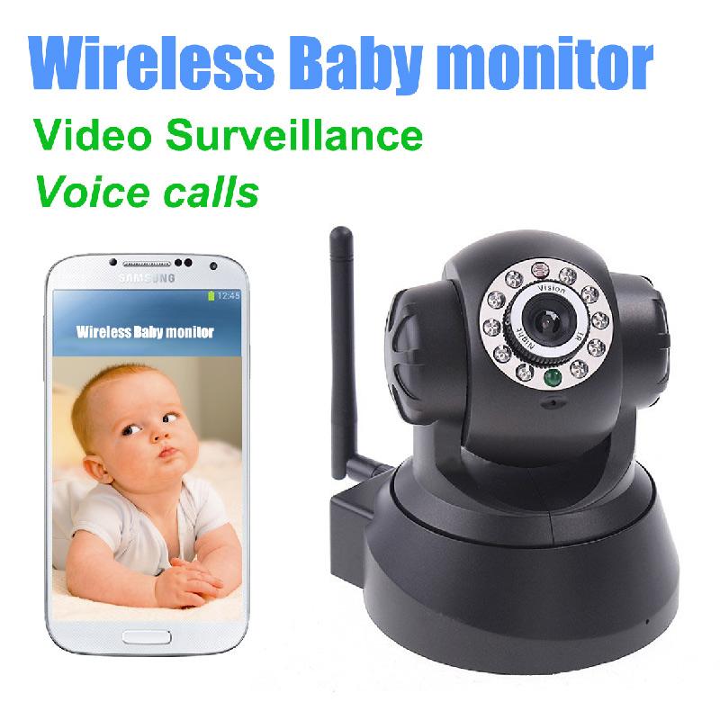 Video Baby Monitor wireless IR Video Talk intercom one Camera Night Vision video / audio Baby Monitor digital WiFi Baby(China (Mainland))