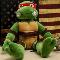 Free shipping New TMNT 4pcs/lot the Teenage Mutant Ninja Turtles Plush Toys Movies & TV Toys