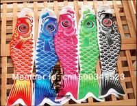 Mini 18cm Japanese carp flag 5-colors/ lot for indoor decoration
