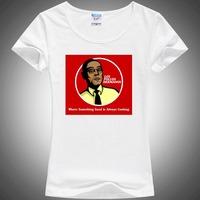 Los Pollos Hermanos Distressed Walter White Crystal Meth AMC TV show Breaking Bad T Shirt tops&tees for women