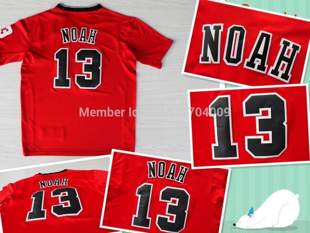 2013-14 joakim Noah Christmas jersey, Chicago and joakim Noah Christmas jersey, basketball jersey hallmarks(China (Mainland))