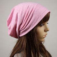 Summer crumple piles cap  female hat month of cap maternity air conditioner cap bare-headed hat mobcap