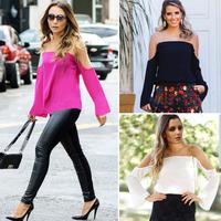 Superb! 1PC Fashion Women Loose Chiffon Tops Long Sleeve Shirt Casual Blouse Free Shipping&Wholesale Alipower