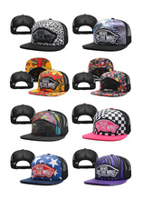 Vans Snapback Hip Hop Caps Warped Tour 2014 Trucker Adjustable Hats Caps Off The Wall Cheetah Floral Print Street Headwear Vans(China (Mainland))