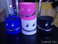 2014  New Happy face wireless power amplifier Bluetooth TF MIC speaker  Gift