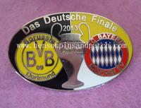 DAS DEUTSCHE FINAL , Football match game badge,sports badge