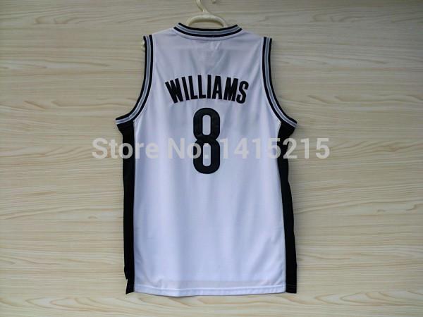 Popi sport customize cheap Adi Rev 30 #8 Williams Basketball Jersey, New Material Rev 30 Embroidery Logos Basketball shirt(China (Mainland))