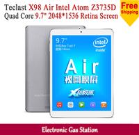 "Teclast X98 Air Intel Atom Z3735D Android4.2 Quad Core 2G RAM 32G ROM 9.7"" Retina Screen 2048*1536 Dual Camera Tablet PC"