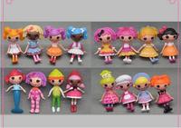Mini Lalaloopsy Doll Toy Bulk Button Eyes Toys For Girl Classic Brinquedos 8cm MGA 16pcs/lot SHD-1095