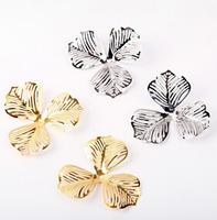 free shipping ,ornament accessoires, flower pendant ,metal accessories, 50mm diameter , MOQ is 200cs .