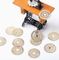 free shipping ,ornament accessoires, diy metal accessories, 2.5cm diameter, MOQ is 200pcs