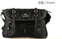 2014 New Brand  Men's Casual Messenger School Shoulder Cross Body Bags Fashion Design High Quality Oxford Black Bike Bookbags