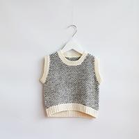 Unisex 2014 New girls knitted vests children autumn cashmere sweaters beige/black 2-8 yrs 5 pcs/lot wholesale 1772