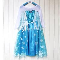 Best seller snowflake cape frozen elsa costume