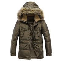 2014 New styles ! Hot saling winter jackets Warm 90% duck down jacket men's coat sport jacket , Free shipping