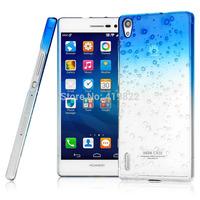 Hot Sale New Genuine Brand Imak Raindrop Hard Cover Skin Case + Screen Protector For Huawei P7-L00 Ascend P7
