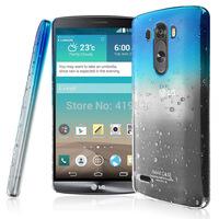 Hot Sale New Genuine Brand Imak Raindrop Hard Cover Skin Case + Screen Protector For LG G3 D830 D851 VS985 D850