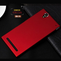 Luxury Anti-skid Surface Ultra thin Slim Matte Hard Case For Sony Xperia T2 Ultra XM50H Protective Cover + Touch Stylus