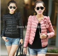 New 2014 cotton-padded jacket Short design wadded slim coat  Winter outwear women  FACTORY SALE D39